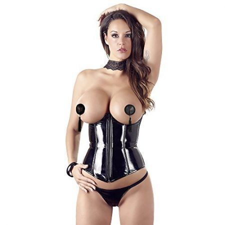 Latex Strapscorsage & Latex Corsage